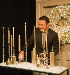 The more candles the merrier! #TBT #InstantAmbiance #NoSuchThingAsTooManyCandles #LicenseToBeKitschForTheHolidays