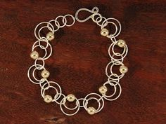 Links in Links and Beads Bracelet 271 — DP Jewelry Designs