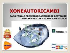 FARO FANALE PROIETTORE ANTERIORE DESTRO ANT DX LANCIA MUSA 07/>11 2007 AL 2011