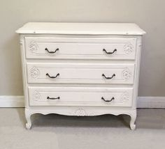 A4476 Old French Chest of drawers