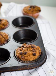 Celozrnné mrkvové muffiny bez cukru Food And Drink, Breakfast, Fit, Breakfast Cafe