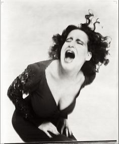 """Group conformity scares the pants off me because it's so often a prelude to cruelty towards anyone who doesn't want to - or can't - join the Big Parade... Cherish forever what makes you unique, 'cuz you're really a yawn if it goes."" ~ Bette Midler, photographed by Richard Avedon, 1971"