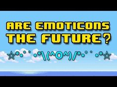 Are Emoticons the Future of Language? | Off Book | PBS Digital Studios - YouTube