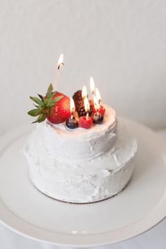 A cake is only as pretty as what is inside (or on top in this case!). Adorn any type of cake with these simple fruit candles for a simply festive birthday cake. These candles give a natural and classy look, for a memorable birthday touch. To make the assorted fruit candles you will need – fruit...Read More