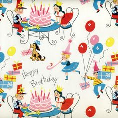 Vintage wrapping paper ☆ヴィンテージ包装紙