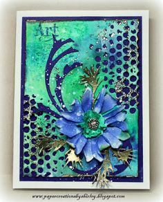 Paper Creations by Shirley: Tattered Flowers