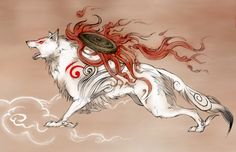 Amaterasu Close-Up by ~Vyrilien on deviantART