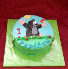 dort krteček - Hledat Googlem Birthday Cake, Children, Desserts, Food, Cake Cookies, Birthday Cakes, Young Children, Tailgate Desserts, Boys