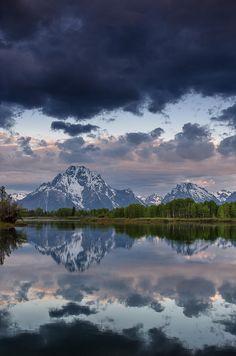 Mount Moran, Grand Teton National Park, Wyoming; photo by Greg Nyquist