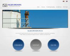Forsikringsmeglerne Nilsen Brokers gikk for brukervennlighet på sin Idium Web+side.