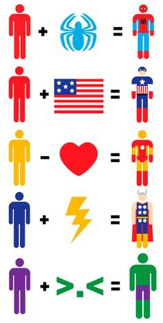 minimalistic superheroes? yes.