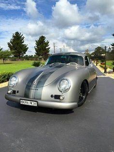 Vintage Car Models Outlaw 356 in silver! Porsche 356 Outlaw, Porsche 356 Speedster, Porsche 356a, Porsche Cars, Vintage Porsche, Vintage Cars, Vw Cabrio, Kdf Wagen, Ferdinand Porsche