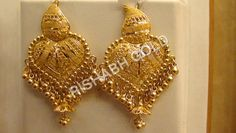 Beautiful Gold Earrings
