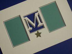 Monogram Design by Brian Wolf using a Wizard CMC and MatDesigner Software