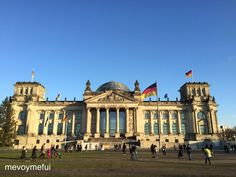 #Berlin #Reichstag #Germany #travel #tourism --> check out my 3 day itinerary of Berlin! www.mevoymefui.wordpress.com