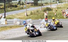 Graziano Rossi , Wil Hartog and Kenny Roberts 1980.