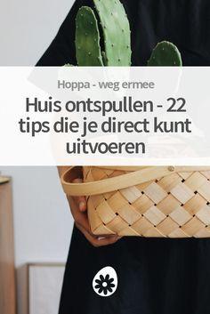 Ontspullen in huis zorgt voor meer rust en ruimte in huis en in je hoofd. Daarom in dit artikel je huis ontspullen in 22 simpele tips - lekker luchtig. :)