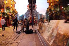 Temple Bar, uma das regiões de pubs mais populares de Dublin (foto: Eduardo Vessoni) - Fornecido por Viagem em Pauta