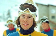 Ingemar Stenmark is a Swedish former skier, active during the and He is regarded as one of the most prominent Swedish sportsmen, and as the greatest slalom and giant slalom specialist of all time. Childhood Images, Old Scool, Alpine Skiing, World Of Sports, Sports Stars, Tennis Players, Held, Winter Sports, Movie Stars