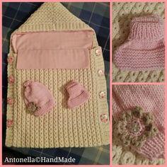 Sacco nanna con lenzuolino estraibile... Per la mia nipotina Parigina