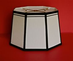 https://flic.kr/p/tQHdAu | handsewn octagon drum lampshade @ www.lampshadesetc.com and ETSY