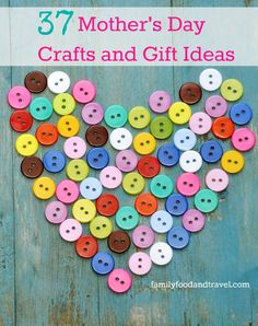 Looking for a special gift for Mother's Day? We've rounded up 37 fantastic Mothers Day Crafts and Gift Ideas kids can make.