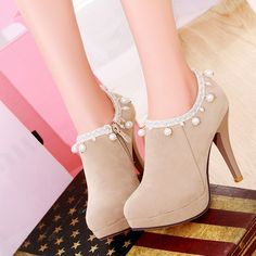 "Fashion sweet high-heeled shoes Cute Kawaii Harajuku Fashion Clothing & Accessories Website. Sponsorship Review & Affiliate Program opening!super beautiful and cute heels ,black or white?come and buy now!!! use this coupon code ""cute8"" to get all 10% off"