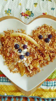 Cherry and Nut Granola Treat: