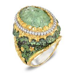 24k золото и серебро Ри красоты шику ювелирные изделия