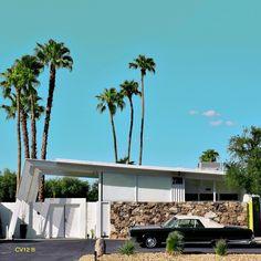 Modern tree house palm springs 28 New Ideas Palm Springs Houses, Palm Springs Style, Century Hotel, Mid Century House, Spring Architecture, Modern Architecture, Landscaping With Rocks, Modern Landscaping, Modern Backyard