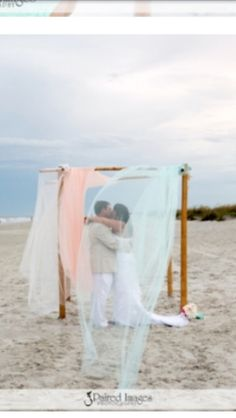 Happiness is a beach wedding