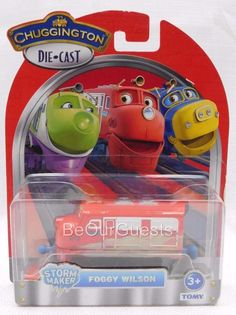 Chuggington Die Cast Train Storm Maker Foggy Wilson New #TOMY