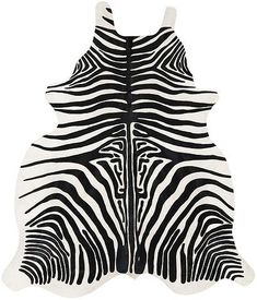 Zebra Pattern Cowhide