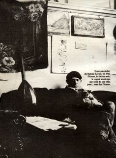 PICASSO AU BATEAU-LAVOIR Chaim Soutine, Concrete Color, Artists And Models, Vintage Paris, Make Art, Pablo Picasso, Belle Epoque, Van Gogh, Opera