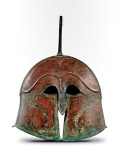 Apulo-Corinthian Helmet, Greek, 5th century B.C.