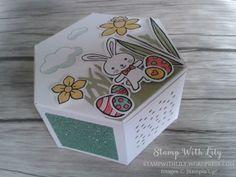 Boîte avec le poinçon Thinlits Jardinières et le lot Panier de Pâques