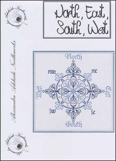 North South East West - Cross Stitch Pattern
