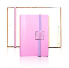 Undercover recycled leather address book