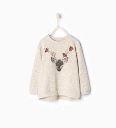 ZARA - KIDS - Deer sweatshirt