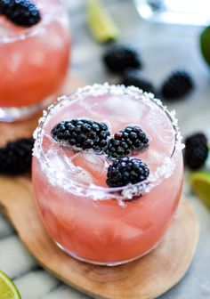 Blackberry lime margarita: http://www.stylemepretty.com/living/2015/04/29/12-must-try-margaritas-for-your-cinco-de-mayo-fiesta/