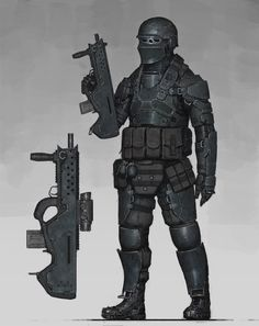 ArtStation - Special Unit Soldier, Ariel Perez