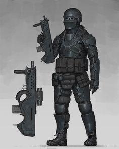 ArtStation - Special Unit Soldier, Ariel Perez