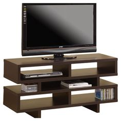 "Found it at Wayfair - Cupertino 47"" TV Stand in Cappuccino"
