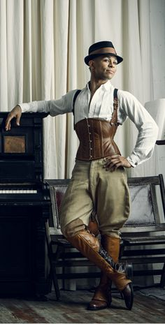 Tailored Cincher A very popular style tailored towards a more masculine figure.