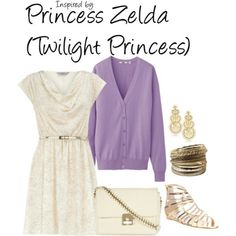 Princess Zelda casual cosplay outfit ~ #TLoZ (Twilight Princess) on @Steve K to Closet   :)