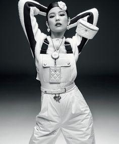 "Fashionography on Instagram: ""@jennierubyjane in #CHANEL Coco Neige Collection Campaigns by #InezandVinoodh #Jennie"""