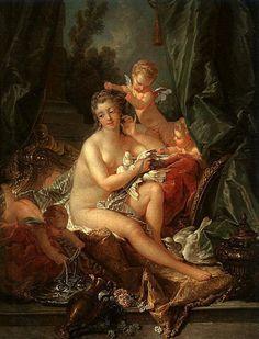 Francois Boucher The Toilet of Venus art Painting 50% off