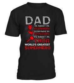 Dad is superhero  Funny dad superhero T-shirt, Best dad superhero T-shirt