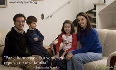 """""""Paz e harmonia: eis a verdadeira riqueza de uma família"""". - Benjamin Franklin. Acesse http://on.fb.me/1IE7B11 #CompartilheSuaFelicidade #EncontreLeveEnsine"""