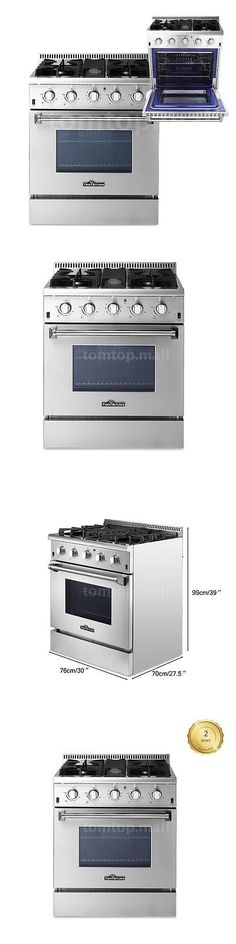 ranges and stoves thor kitchen 30 4 burners gas range stainless steel 2 year
